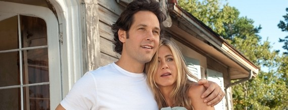 Paul Rudd & Jennifer Aniston in 'Wanderlust'Photo © 2012 Universal Pictures International